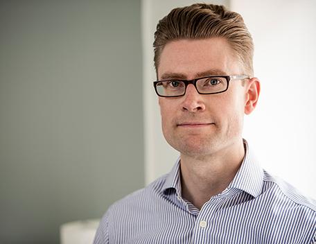 Forskaren Fredrik Molin.